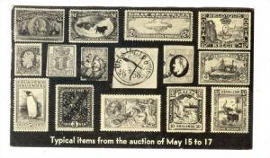 J&H Stolow Stamp Auction, New York City, 1952, PU-1952