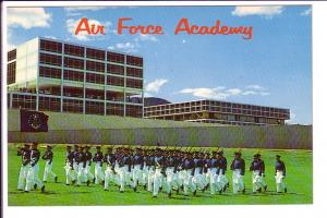 Cadets on Parade, US Air Force Academy, Colorado Springs, Colorado, Zamansky