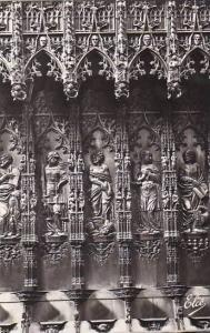 France Auch La Cathedrale Boiseries Sculptees Photo