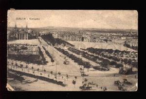 034215 MALTA Floriana general view Vintage PC