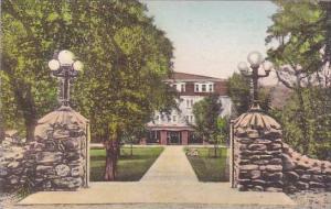 Virginia Harrisonburg Bond Memorial Gate And Approach Massanetta Springs Bibl...