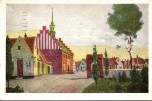 Maine Scarboro Den Danske Landsby Danish Village 1940