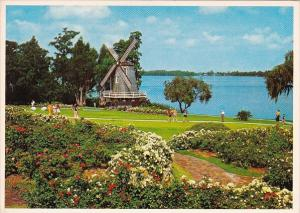 Florida Cypress Gardens Scenic Windmill At Cypress Gardens
