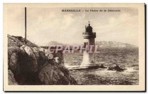 Postcard Marseille Old Lighthouse Desirade
