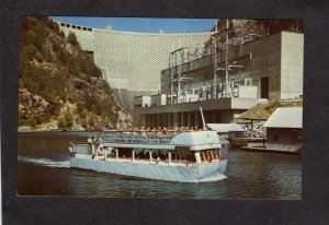 WA Seattle Diablo Power Plant Dam Tour Boat Ross II  Washington State Postcard