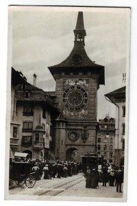 P1249 old unused RPPC The Clock Tower (Zeitglockenturm) bern switzerland