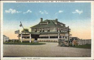 Ogunquit ME Wedgemere Motor Inn c1920 Postcard