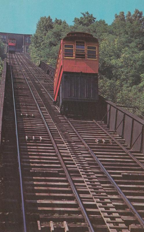 PITTSBURGH , Pennsylvania , 1950-60s ; Duquesne Incline