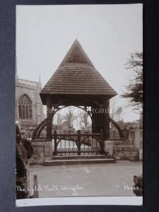 Lincolnshire CLEETHORPES Old Clee Church - Old RP Postcard by Bamforth & Co Ltd