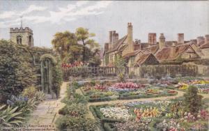 Shakespeare Knot Garden & New Place, Stratford-On-Avon, England, UK, 1900-1910s