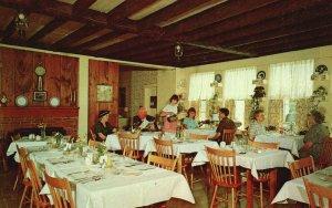 Fitzwilliam, NH, Webster Room at Fitzwilliam Inn, 1964 Chrome Postcard g8522