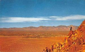 China Lake California Sierra Range Scenic View Vintage Postcard JD933958