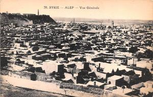Alep, Syria Postcard, Syrie Turquie, Postale, Universelle, Carte Vue Generale...
