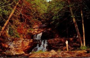 Connecticut Kent Scene At Kent Falls