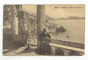 Panorama Dal Bosco Dell´Hotel Cappuccini, Amalfi, Salerno (Campania), Italy,...