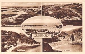 Guernsey, St Peter Port Boats Saints Bay Petit Boe Bay