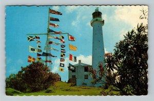 Bermuda- Caribbean, Gibbs Hill Lighthouse, Chrome c1969Postcard