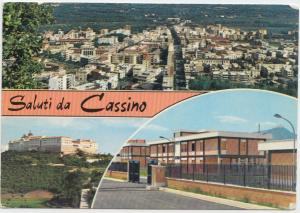 Saluti da Cassino, Italy, Italia, 1973 used Postcard
