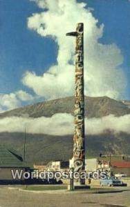 Canada Jasper Totem Pole, Canadia National Depot