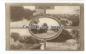 tq1647 - N'Humb - Early Multiview x 5, of Views around Felton - Postcard