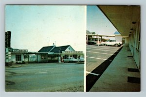 Wyoming ON- Ontario, Hilltop Motel, Advertising, Chrome Postcard