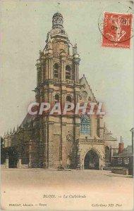 Old Postcard Blois La Cathedrale PERICAT Bookseller Tours