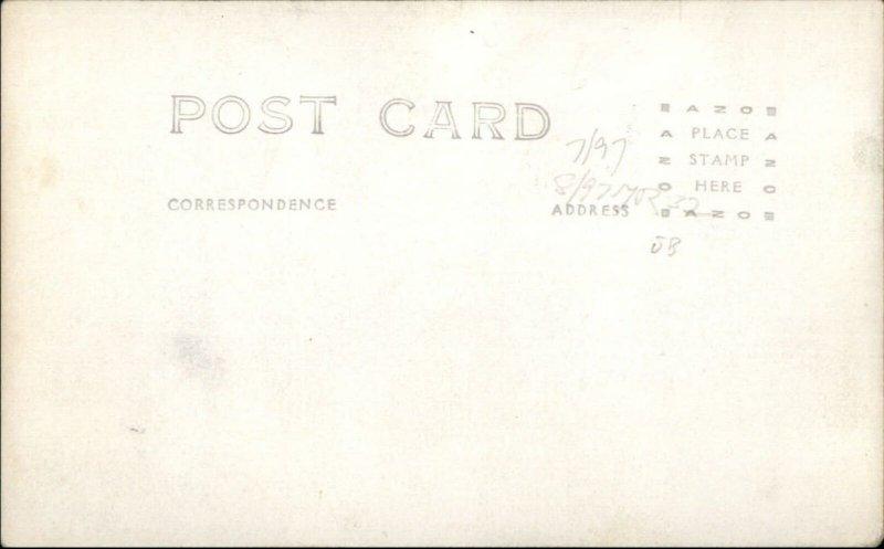 Washington DC Great Depression Bonus Army Camp Marks 1932 Real Photo Postcard