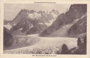 France Chamonix Mer de Glace vue de la Gare 1924