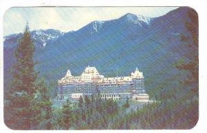 Banff Springs Hotel in the heart of the Candian Rockies, Alberta, Canada, 40-60s