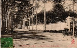 CPA VIETNAM INDOCHINE-Saigon-Avenue et entrée du Cimetiére (321267)