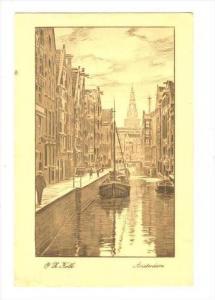O. L. Kolk, Boats, Amsterdam (North Holland), Netherlands, PU-1925