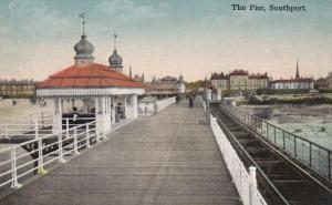 SOUTHPORT, Lancashire, England, United Kingdom, 00-10s : The Pier