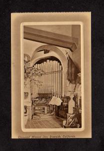 CA Glenwood Mission Inn Music Room Organ Riverside California Calif Postcard PC