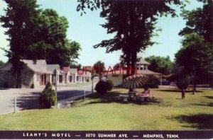 LEAHY'S MOTEL, Summer Ave. MEMPHIS, TN Owned by Mr and Mrs A T Leahy