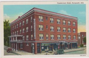 PARAGOULD, Arkansas, 30-40s; Vandervoort Hotel