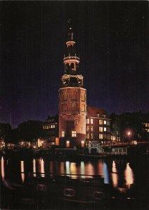 B108770 Netherlands Amsterdam Oude Schans with Montelbaanstower Tower