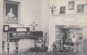 Wisconsin Portage Living Room Old Indian Agency House Artvue