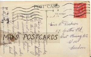 Genealogy Postcard - Dickson - Gratton Rd - West Kensington - London - Ref 9219A