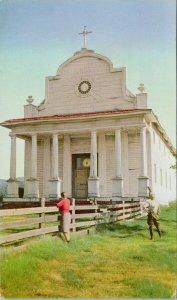 Cataldo Mission Idaho ID Union Oil Advertising Unused Postcard G11