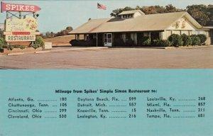 MARYVILLE , Tenn. , 50-60s ; Spike's Simple Simon Restaurant