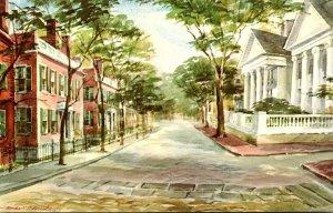 Massachusetts Nantucket The Court End Of Main Street