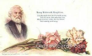 Artist Shinn, Cobb Postcard Post Card, Old Vintage Antique Henry Wadsworth Lo...