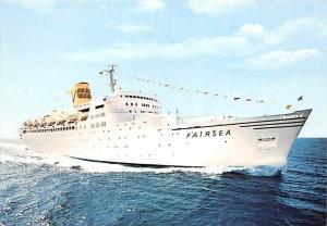 5818  S.S. Fairsea, Sitmar Cruises