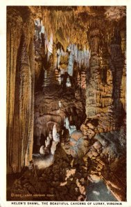 Virginia Caverns Of Luray Helen's Shawl