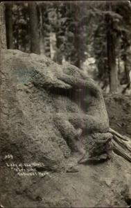 Crater Lake National Park Lady of the Woods c1910 Real Photo Postcard