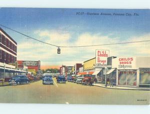 Linen STREET SCENE Panama City Beach Florida FL W1873