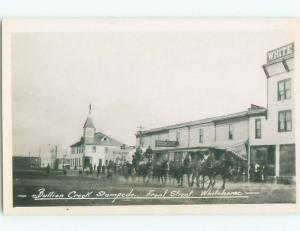 old rppc STAMPEDE BY SHOPS Whitehorse Yukon Territory YT W0865