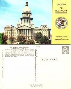 The Illinois State Capitol, Springfield, Illinois