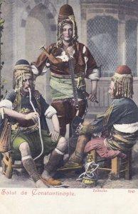 Salut de CONSTANTINOPLE , Turkey , 1898-1907 ; Zeibecks
