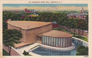 New York Buffalo Klenhans Music Hall